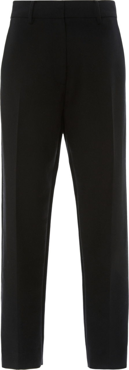 Khaite Catherine Cotton-Twill Cropped Pants