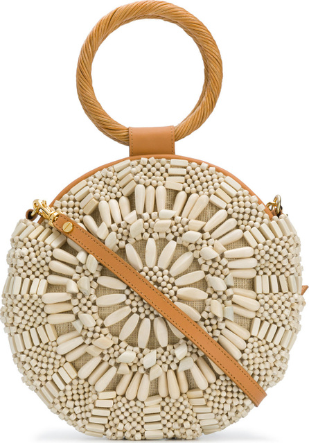 Aranaz Sunsburst beaded bag