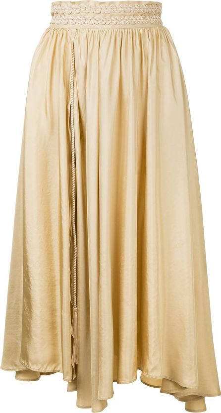 Forte Forte asymmetric pleated skirt