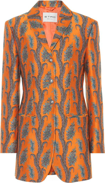 Etro Brocade cotton blazer