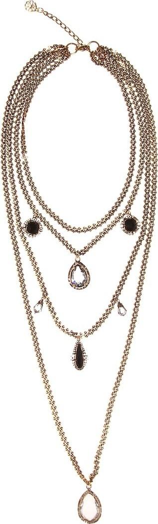 Alexander McQueen Crystal chain harness