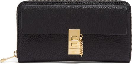 Chloe Drew zip-around leather wallet