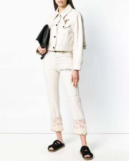 Hyein Seo Cropped trucker jacket