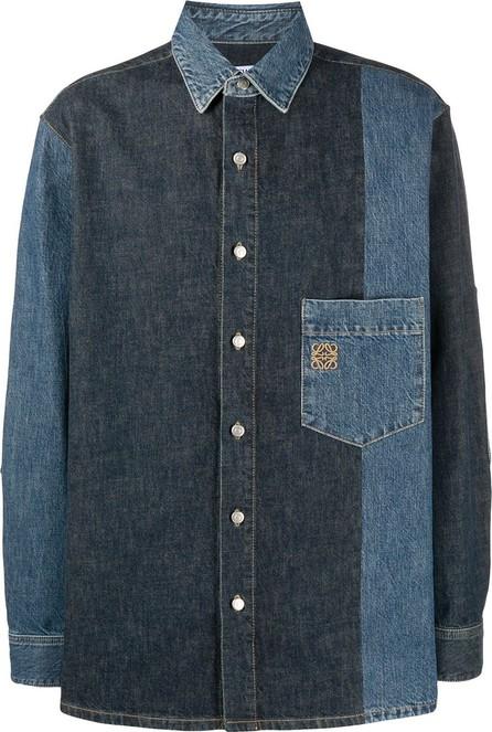 LOEWE Panelled denim shirt
