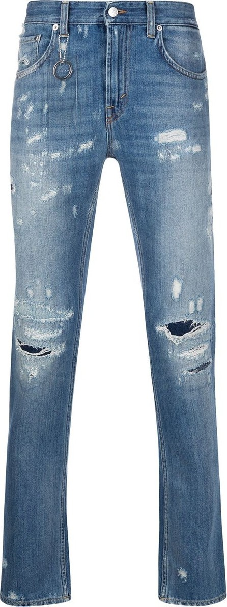 Department 5 Distressed skinny fit jeans