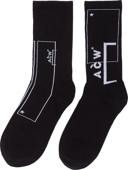 A-Cold-Wall* Logo intarsia socks
