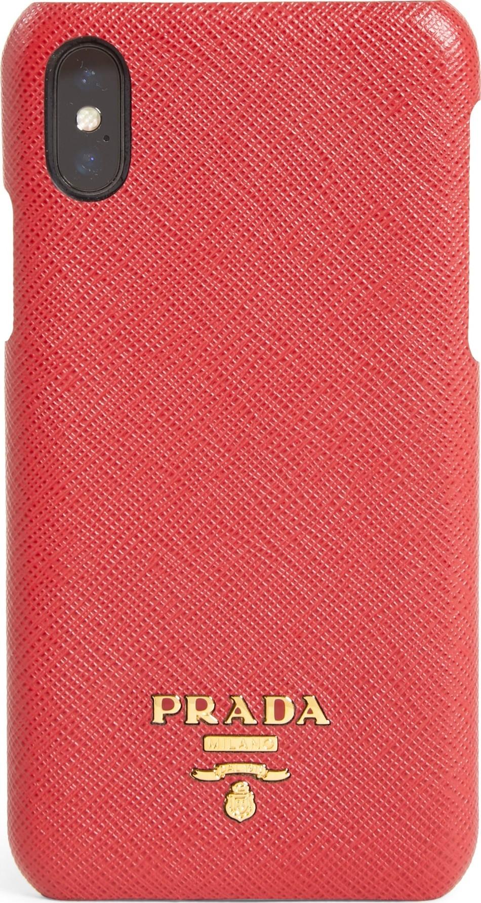381a16b6d8 Saffiano Leather iPhone X Case