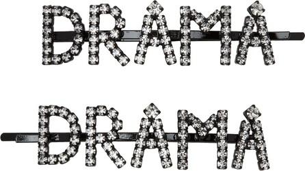 Ashley Williams Transparent 'Drama' Hair Clip Set