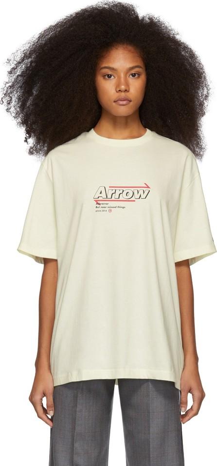 ADER error Off-White Arrow T-Shirt