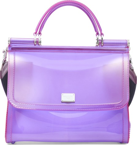 Dolce & Gabbana Medium Miss Sicily PVC Satchel