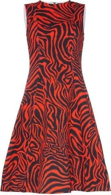 Calvin Klein Collection Sleeveless Printed Midi-Dress