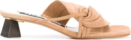 Jacquemus Knotted slip-on mules