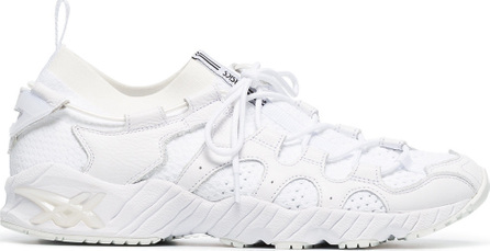 Asics White Gel-Mai knit leather low-top sneakers