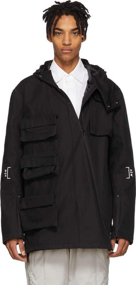 A-Cold-Wall* Black Detachable Sleeves Cargo Coat