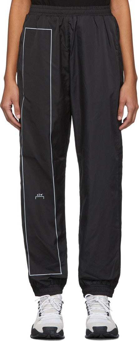 A-Cold-Wall* Black Rectangle Print Lounge Pants