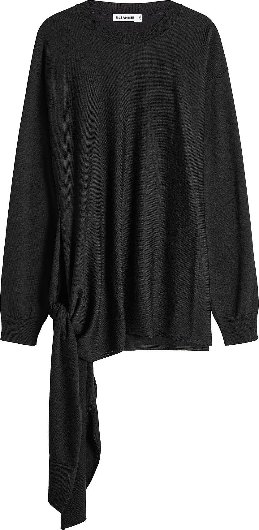 Jil Sander - Virgin Wool Side Tie Pullover