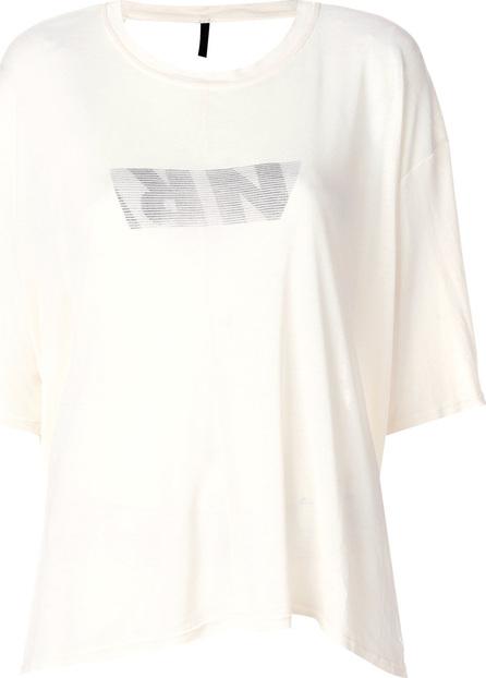 Ben Taverniti Unravel Project Open-back logo T-shirt