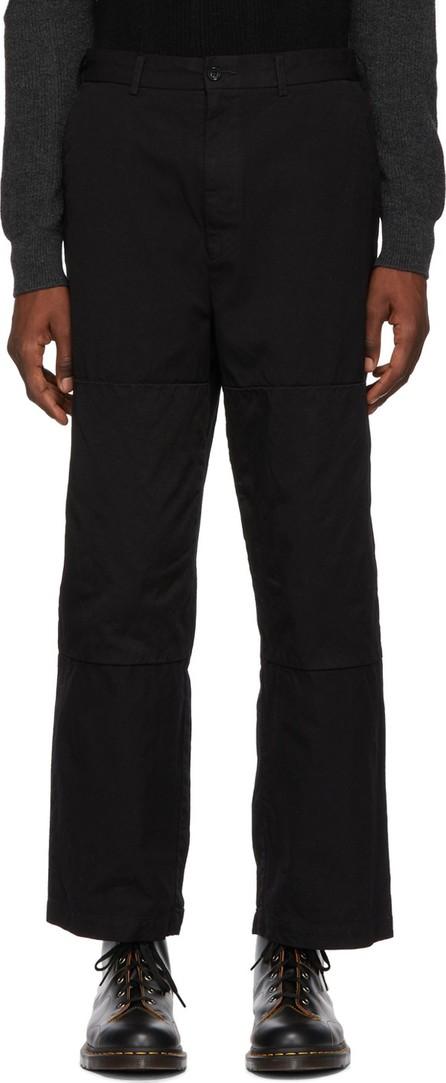 Comme des Garçons Homme Black Mix Trousers