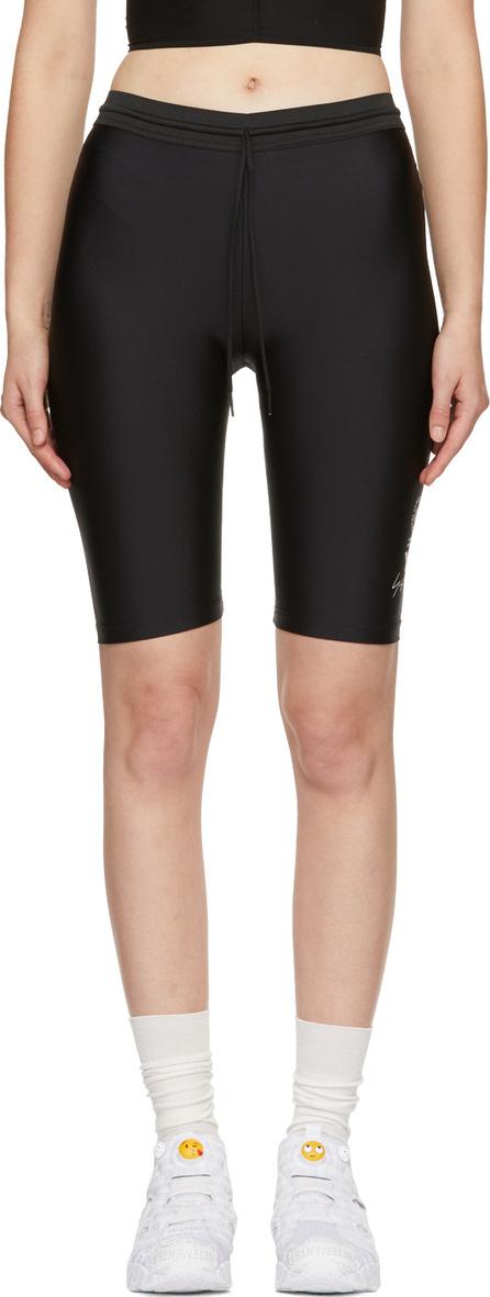Y-3 Black Stretch Logo Shorts