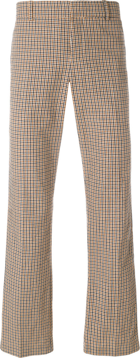 Faith Connexion Checked logo trousers