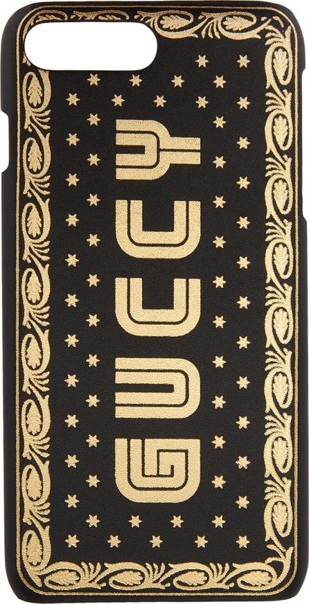 Gucci Black Sega 'Guccy' iPhone 8 Plus Case