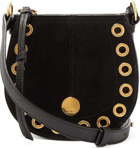 See By Chloé Kriss mini suede & leather cross-body bag