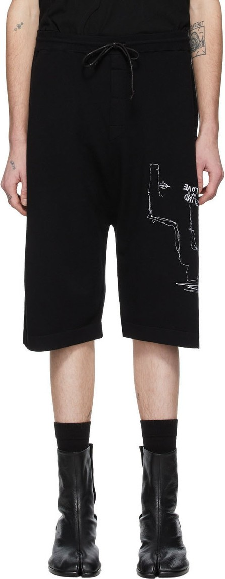 Isabel Benenato Black Jogging Shorts