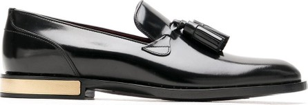 Dolce & Gabbana Tassel detailed leather loafers