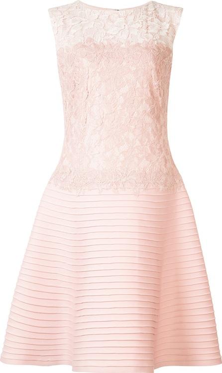 Tadashi Shoji lace panel dress