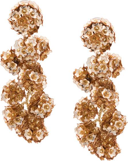 Sachin & Babi Fleur Coconuts clip-on earrings
