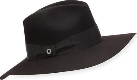 Loro Piana Kim Velvet Felt Floppy Hat