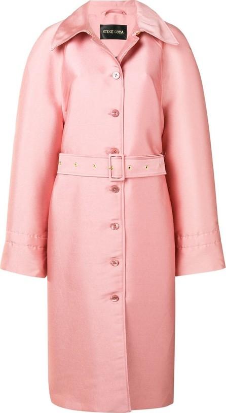 Stine Goya Belted midi coat