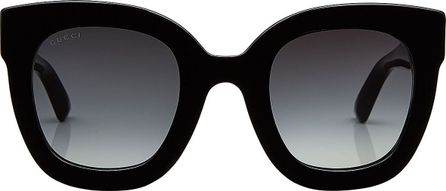 Gucci Square Sunglasses with Embellished Arms