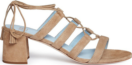 Frances Valentine 'Jadesu' lace-up suede sandals