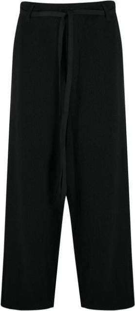 Yohji Yamamoto Drawstring loose leg trousers