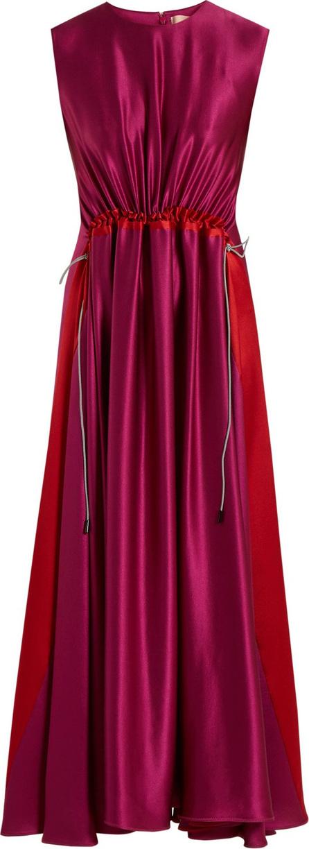 Roksanda Keeva silk-satin dress