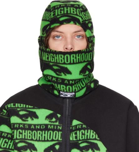 Perks and Mini Black & Green Neighborhood Edition Balaclava