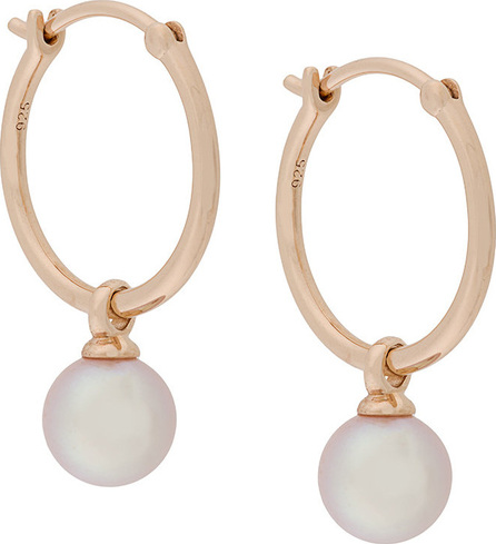 Astley Clarke Vera drop hoop earrings