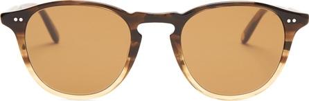 GARRETT LEIGHT Hampton 46 round-frame acetate sunglasses