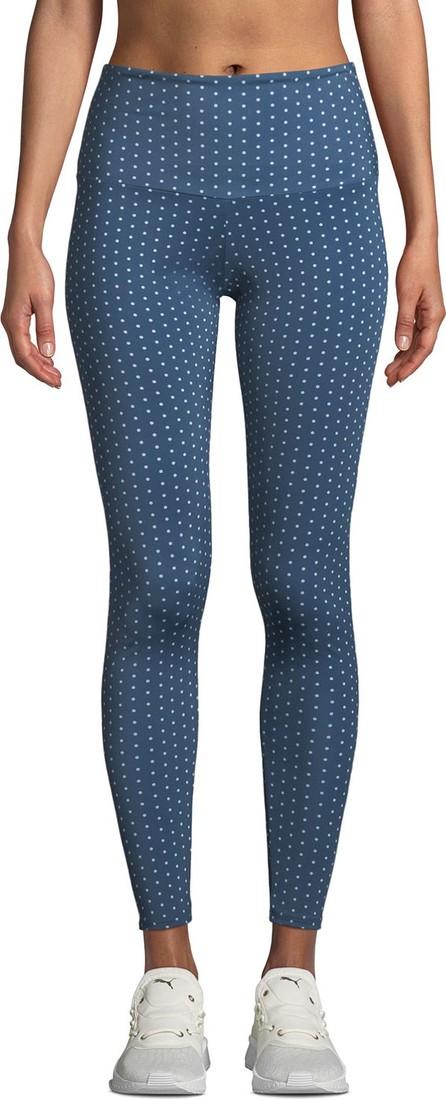 ONZIE High-Rise Polka-Dot Yoga Leggings