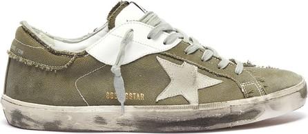 Golden Goose Deluxe Brand 'Superstar' canvas sneakers