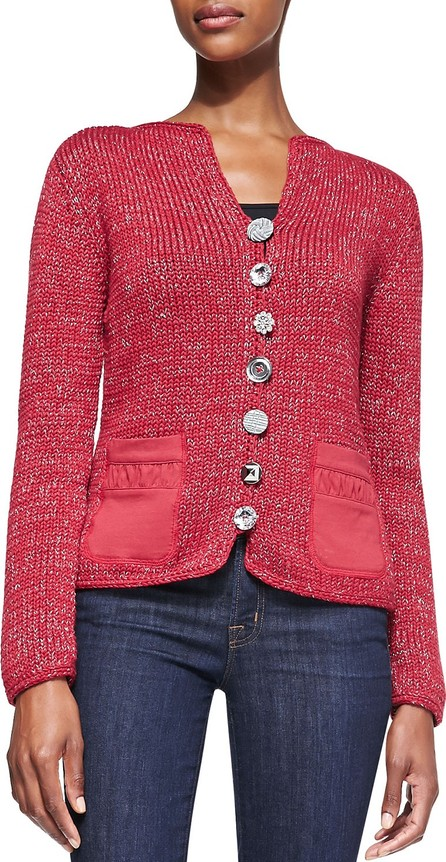 Pure Handknit Bay Breeze Multi-Button Cardigan