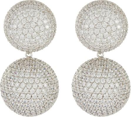 Anabela Chan Diamond 18k white gold rhodium vermeil detachable bauble earrings