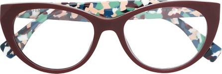 Fendi patterned arm glasses