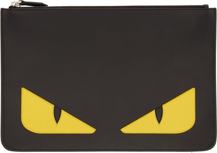 Fendi Black Bag Bugs Pouch