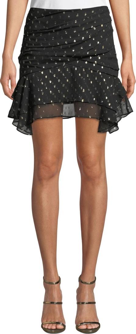 Camilla And Marc Jasmeen Draped Silk Mini Skirt