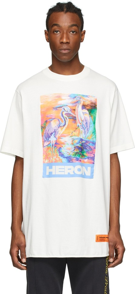 Heron Preston White Heron Colors T-Shirt