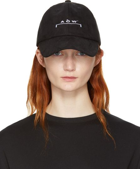 A-Cold-Wall* SSENSE Exclusive Black Logo Cap