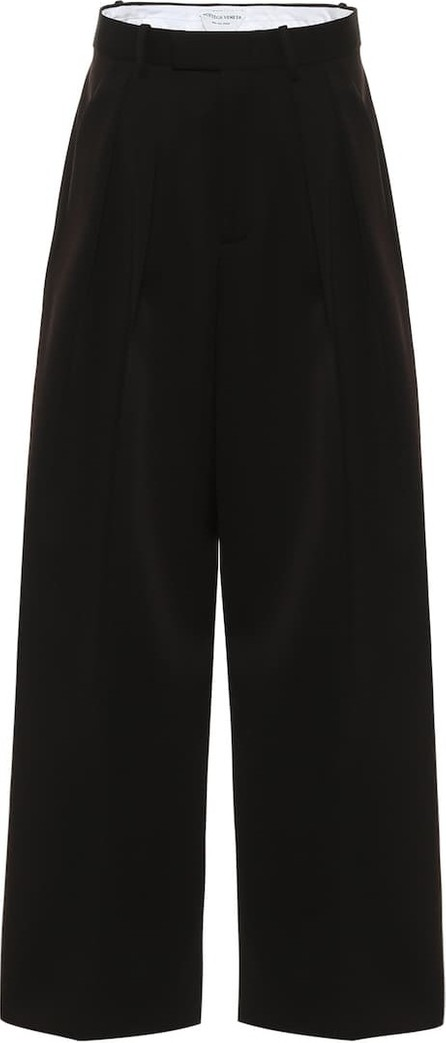 Bottega Veneta High-rise wool wide-leg pants