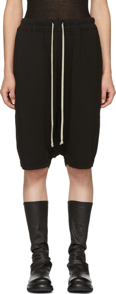 Rick Owens DRKSHDW Black Pod Shorts